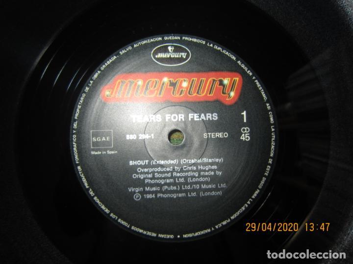 Discos de vinilo: TEARS FOR FEARS - SHOUT REMIX VERSION -45 R.P.M. MAXI - ORIGINAL MERCURY 1984 MUY NUEVO (5) - Foto 8 - 202744283
