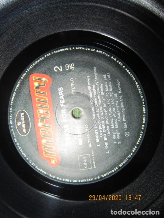 Discos de vinilo: TEARS FOR FEARS - SHOUT REMIX VERSION -45 R.P.M. MAXI - ORIGINAL MERCURY 1984 MUY NUEVO (5) - Foto 10 - 202744283