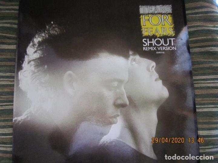 TEARS FOR FEARS - SHOUT REMIX VERSION -45 R.P.M. MAXI - ORIGINAL MERCURY 1984 MUY NUEVO (5) (Música - Discos de Vinilo - Maxi Singles - Pop - Rock Extranjero de los 70)