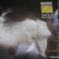Discos de vinilo: TEARS FOR FEARS - SHOUT REMIX VERSION -45 R.P.M. MAXI - ORIGINAL MERCURY 1984 MUY NUEVO (5). Lote 202744283