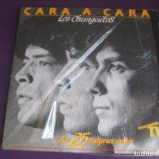 Discos de vinilo: LOS CHUNGUITOS DOBLE LP EMI 1984 CARA A CARA - SUS 25 MAYORES ÉXITOS 1ª EPOCA - RUMBA GITANA RUMBAS. Lote 202745428