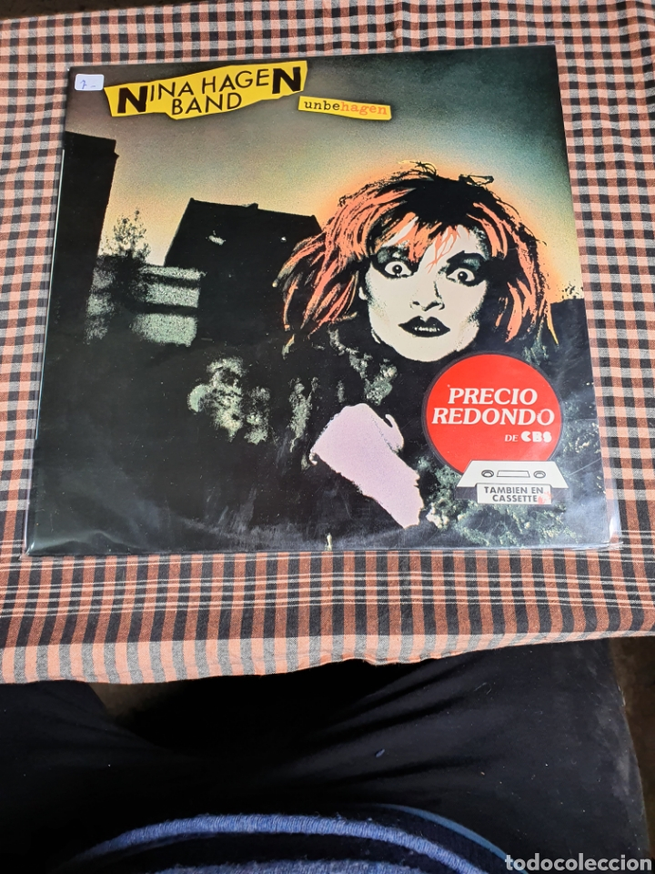 NINA HAGEN BAND, 1979. (Música - Discos - LP Vinilo - Punk - Hard Core)