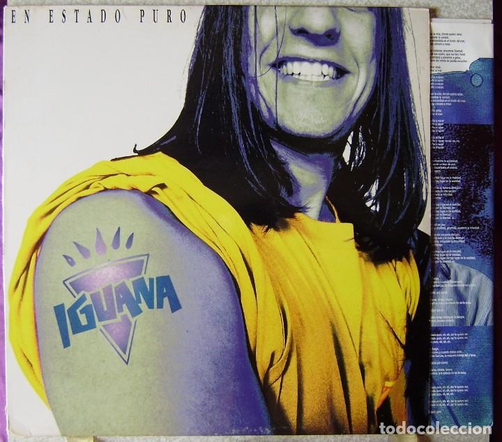 IGUANA.EN ESTADO PURO...EX (Música - Discos - LP Vinilo - Grupos Españoles de los 90 a la actualidad)