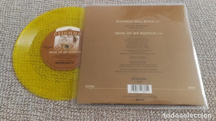 Discos de vinilo: MORRISSEY (The Smiths) - Wedding Bell Blues 7 vinilo amarillo VINILO DE COLOR ED. LIMITADA NUEVO - Foto 2 - 202760060