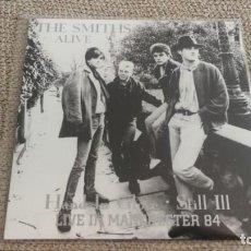Discos de vinilo: THE SMITHS - ALIVE MANCHESTER 84 - 7'' SINGLE ED. LIMITADA NUEVO. Lote 202760316
