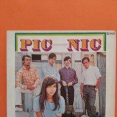 Discos de vinilo: PIC NIC - CALLATE NIÑA/NEGRA ESTRELLA//SINGLE 1967 HISPAVOX,ESPAÑA. Lote 202760350