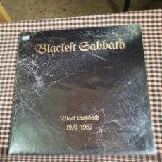 Discos de vinilo: BLACK SABBATH, BLACKEST SABBATH, 1970 - 1087, POLYGRAM IBERICA 1989.. Lote 243847515