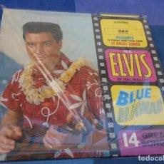 Discos de vinilo: ELVIS PRESLEY NOW LP UK BLUE HAWAI 70S MUY LEVES SINTOMAS DE USO LIMPIO Y AGRADABLE. Lote 202761225