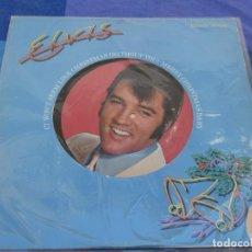 Discos de vinilo: LP ELVIS PRESLEY IT WON´T SEEM CHRISTMAS WITHOUT YOU UK 70S CORRECTO FOTODISCO. Lote 202761441