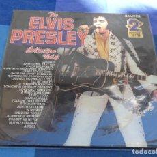 Discos de vinilo: PRECIOSO LP DOBLE ELVIS PRESLEY COLLECTION VOL 2 UK ESTADO MUY CORRECTO AÑOS 70. Lote 202761765