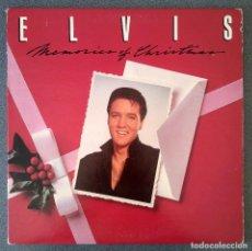 Discos de vinilo: LP ELVIS MEMORIES OF CHRISTMAS. Lote 202761987