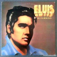 Discos de vinilo: LP ELVIS IN DEMAND. Lote 202762265