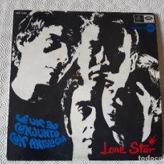Discos de vinilo: LP VINILO LONE STAR. UN CONJUNTO CON ANTOLOGIA. SERIE AZUL 1967.. Lote 202765778