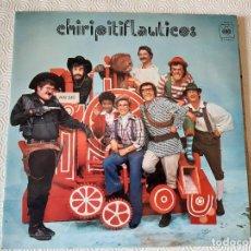 Discos de vinilo: LP VINILO CHIRIPITIFLAUTICOS. ORIGINAL 1973 CBS ESTEREO.. Lote 202768243