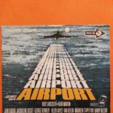 Discos de vinilo: AIRPORT LOVE THEME MARILYN'SE THEME VICENT BELL SINGLE. Lote 202774813