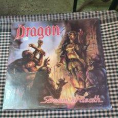 Disques de vinyle: DRAGON, SCREAM OF DEATH, UNDER ONE FLAG 1991. THRASH, METAL.. Lote 202775257