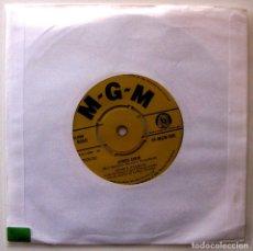 Discos de vinilo: CONNIE FRANCIS - STUPID CUPID / CAROLINA MOON - SINGLE MGM RECORDS 1958 UK BPY. Lote 202782361