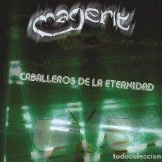 Discos de vinil: LP CABALLEROS DE LA ETERNIDAD - MAGERIT -INEDITOS Y GRABACIONES- ÚNICA EDICIÓN 2017. Lote 202784471