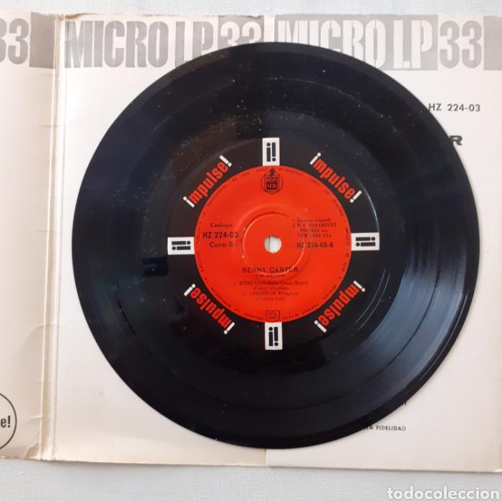 Discos de vinilo: Benny Carter. Hispavox HZ 224-03. España 1962. Funda VG. Disco VG++. - Foto 4 - 202785763
