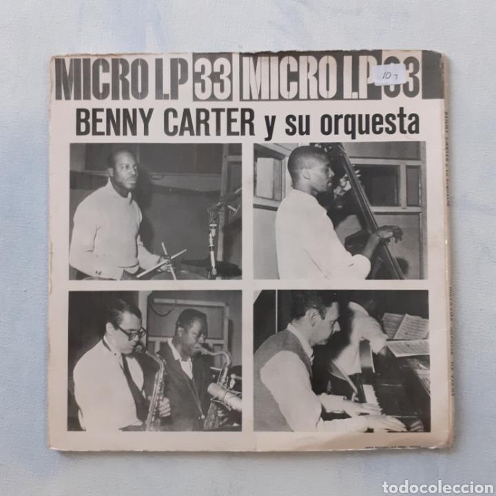 Discos de vinilo: Benny Carter. Hispavox HZ 224-03. España 1962. Funda VG. Disco VG++. - Foto 6 - 202785763