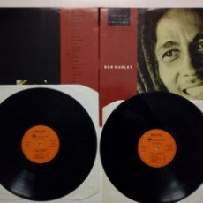 Discos de vinilo: 2 X LP: BOB MARLEY (THE WAILERS) SINGLES 60S-70S - ARTISTAS SIN FRONTERAS SERIE ORO CIRCULO LECTORES. Lote 202786788