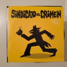 Discos de vinilo: NT SINDICATO DEL CRIMEN - UH, UH AH, AH 1990 TROYA DRO. Lote 202788118