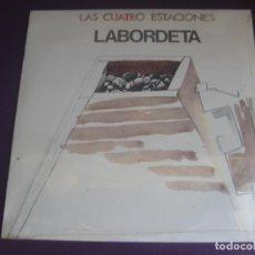 Discos de vinilo: LABORDETA LP FONOMUSIC EDICION DE 1986 - LAS CUATRO ESTACIONES - FOLK PROTESTA ARAGON - TRADICIONAL. Lote 202796148