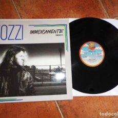 Discos de vinilo: UMBERTO TOZZI IMMENSAMENTE REMIX MAXI SINGLE VINILO ESPAÑA DEL AÑO 1988 2 TEMAS. Lote 202808446