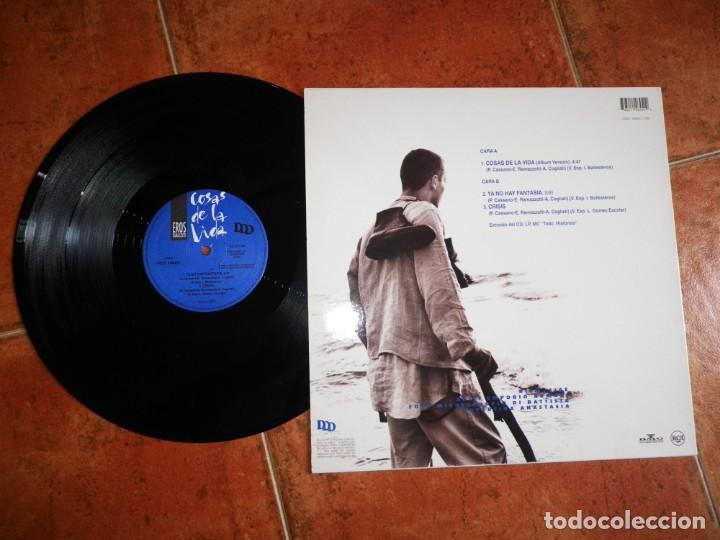 Discos de vinilo: EROS RAMAZZOTTI Cosas de la vida CANTADO EN ESPAÑOL MAXI SINGLE VINILO ESPAÑA DEL AÑO 1993 3 TEMAS - Foto 2 - 202809337