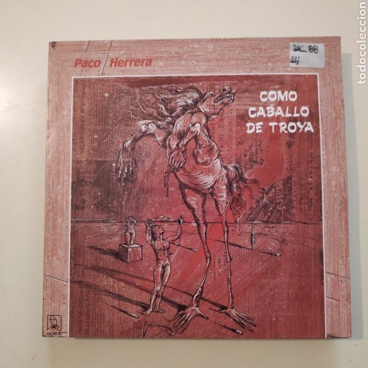 NT PACO HERRERA - COMO CABALLO DE TROYA 1988 SPAIN SINGLE VINILO segunda mano