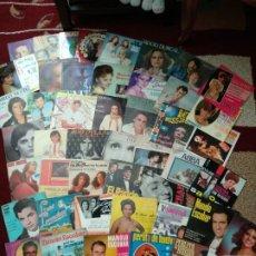 Discos de vinilo: LOTE SINGLES Y EPS, ROCIO DURCAL, DALILA, MIGUEL BOSE, LOS TRES SUDEMERICANOS. Lote 202814072