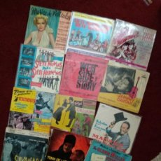 Discos de vinilo: LOTE SINGLES Y EPS BANDAS SONORAS. Lote 202814181