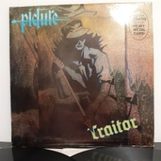 Discos de vinilo: RARO! PICTURE. TRAITOR/ HEAVY METAL EARS. DIANA. 1985. SPAIN. Lote 202823712