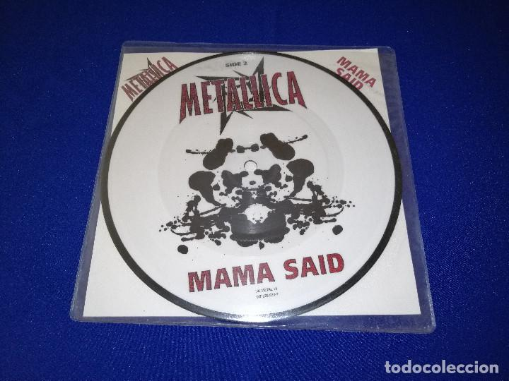 METALLICA (MAMA SAID)AÑO 1996 U.K. (Música - Discos de Vinilo - Maxi Singles - Heavy - Metal)