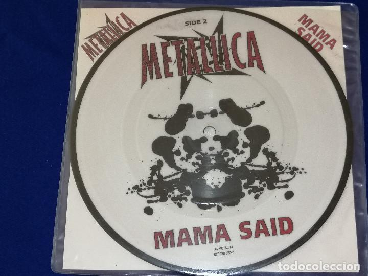 Discos de vinilo: METALLICA (MAMA SAID)AÑO 1996 U.K. - Foto 2 - 202826938