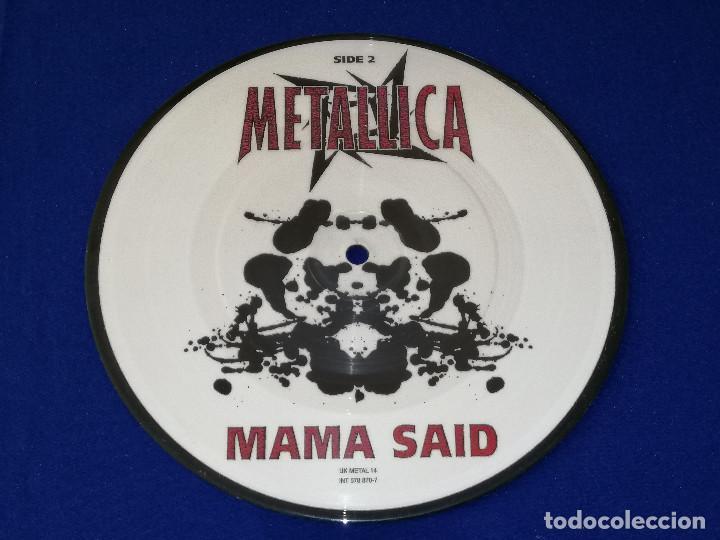 Discos de vinilo: METALLICA (MAMA SAID)AÑO 1996 U.K. - Foto 4 - 202826938