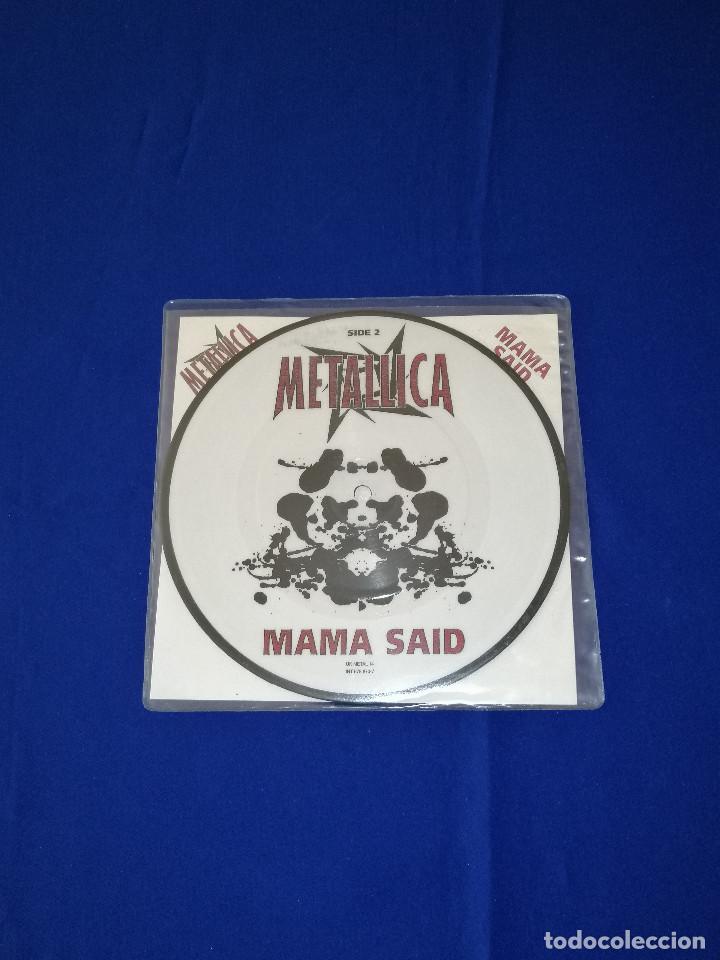 Discos de vinilo: METALLICA (MAMA SAID)AÑO 1996 U.K. - Foto 6 - 202826938