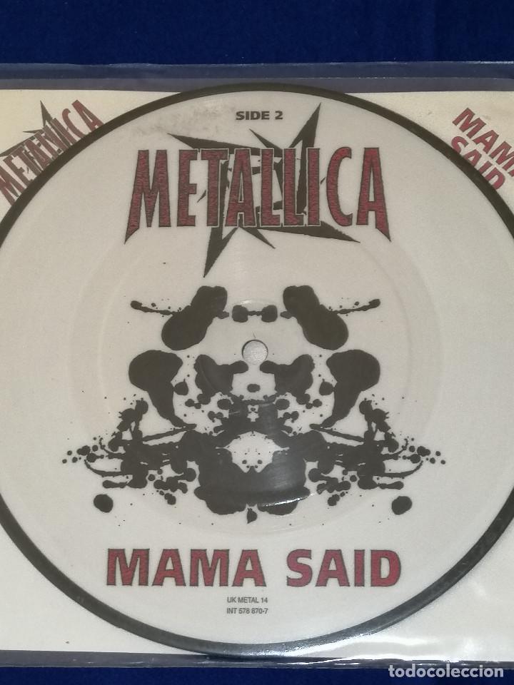 Discos de vinilo: METALLICA (MAMA SAID)AÑO 1996 U.K. - Foto 7 - 202826938