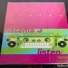 Discos de vinilo: SISTEMA 3 – LISTEN 1995. Lote 202832081