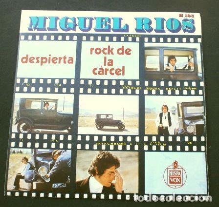 MIGUEL RIOS (SINGLE 1970) DESPIERTA - ROCK DE LA CARCEL (Música - Discos - Singles Vinilo - Solistas Españoles de los 70 a la actualidad)