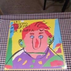 Discos de vinilo: LOS TOREROS MUERTOS, POR BIAFRA, ARIOLA 1987.. Lote 202837647