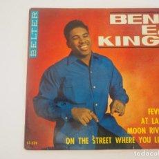 Disques de vinyle: BEN E. KING EP BELTER (1964) FEVER + 3 RARO. Lote 202840172