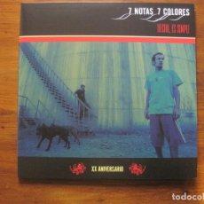 Discos de vinilo: 7 NOTAS 7 COLORES–HECHO, ES SIMPLE 2X LP + CD. Lote 202842267