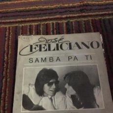 Discos de vinilo: JOSÉ FELICIANO - CARLOS SANTANA -SAMBA PA TI. Lote 202842766