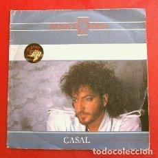 Discos de vinilo: CASAL (SINGLE 1984) TINO CASAL - PANICO EN EL EDEN - HIELO ROJO (NUEVO-MUY BUEN ESTADO). Lote 202845365