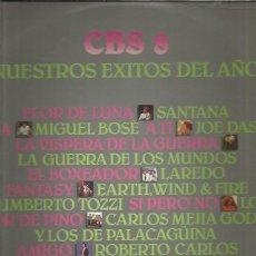 Disques de vinyle: CBS 8 NUESTROS EXITOS DEL AÑO. Lote 202852123