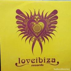 Discos de vinilo: LOV E IBLIZA - RECORDS - DISCOLEGENDZ - JAGUAR - PEDRO MORALES ¬ JULIAN THE ANGEL REMIXES. Lote 202857982