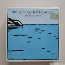 Dischi in vinile: NT PRESUNTOS IMPLICADOS - ME DAS EL MAR 1991 PROMO PROMOCIONAL SPAIN SINGLE VINILO. Lote 202863883