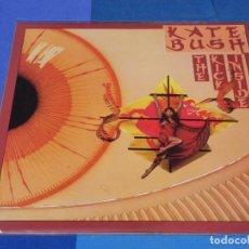 Discos de vinilo: LP KATE BUSH THE KICK INSIDE ORIGINAL UK DE LA EPOCA ACEPTABLE CON UN PAR DE LINEAS FINAS. Lote 202866075