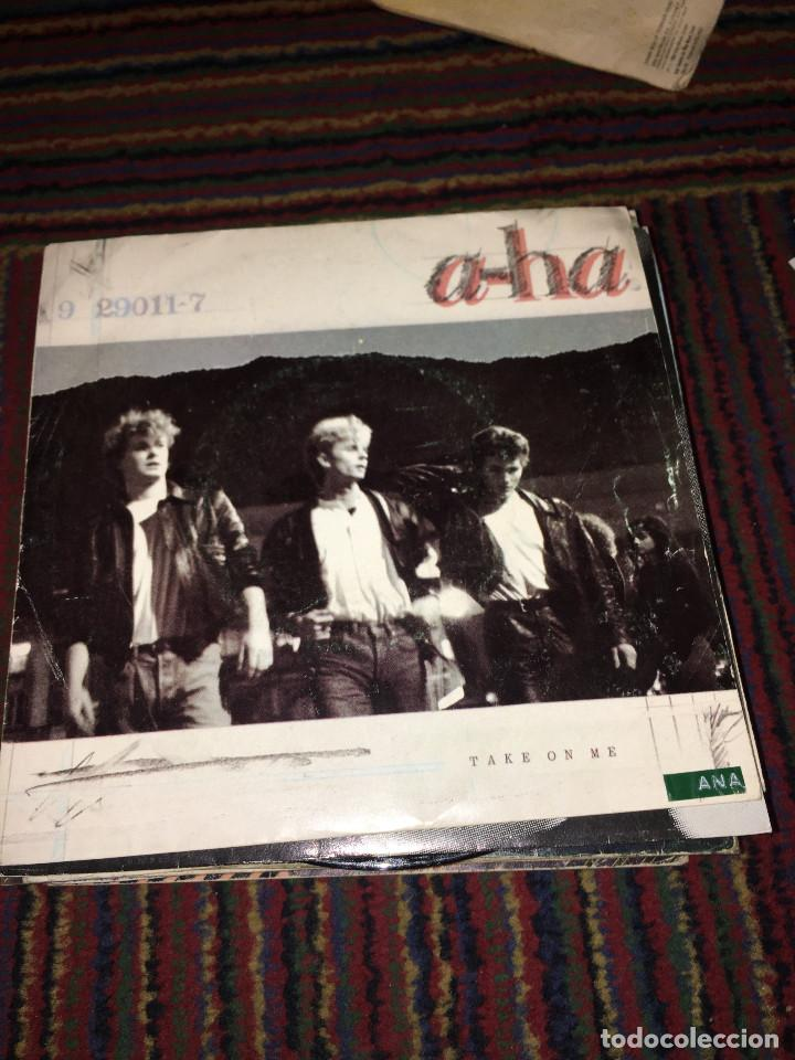 A-HA. TAKE ON ME. SINGLE. (Música - Discos de Vinilo - Singles - Pop - Rock Extranjero de los 80)